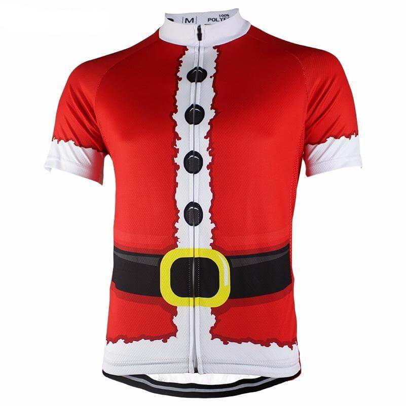 Santa Claus Short Sleeve Cycling Jersey
