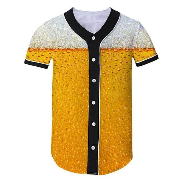 Beer Baseball Jersey - Jersey Champs