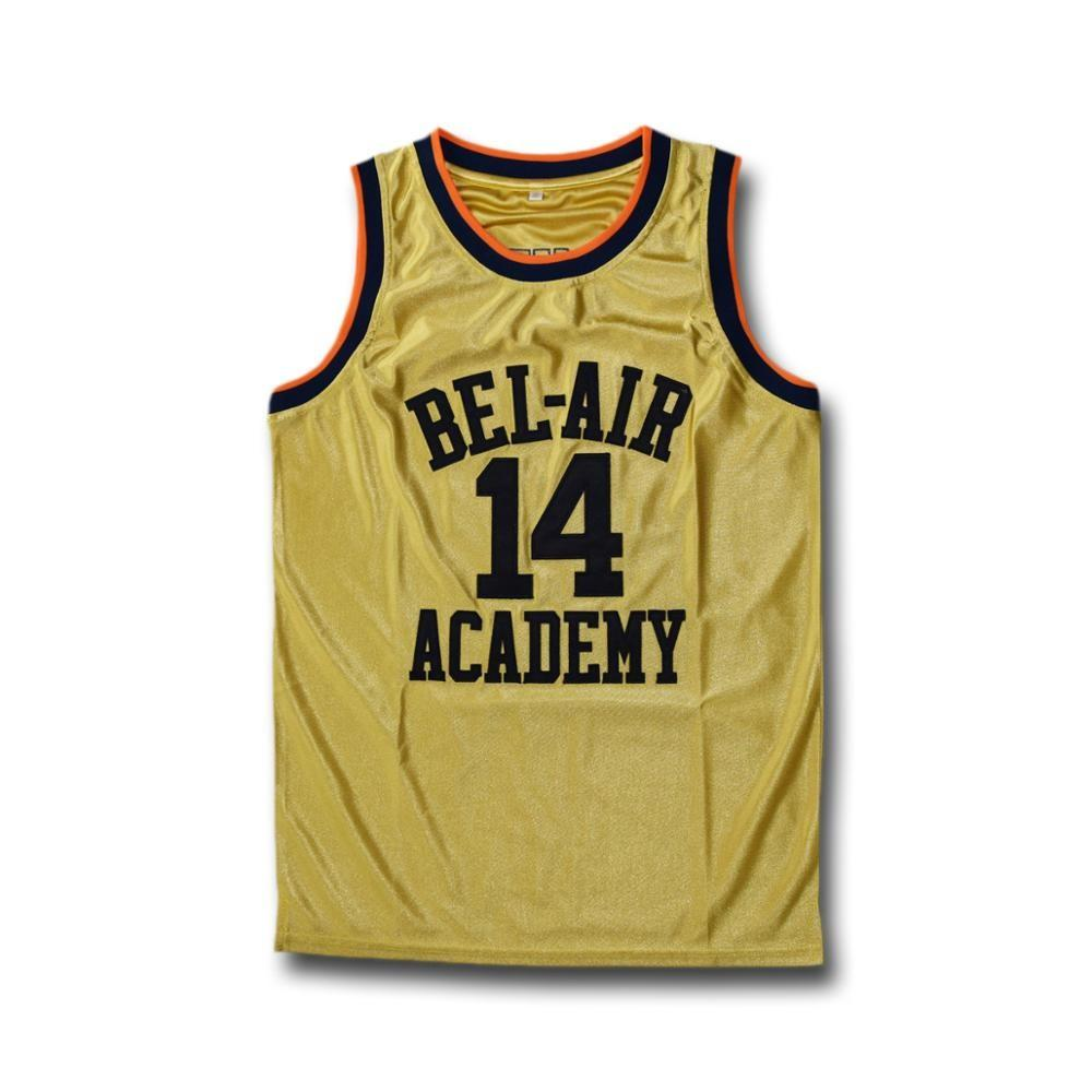 Will Smith Bel Air Academy Stitched Basketball Jersey #14