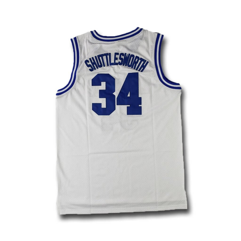 Ray Allen Jesus Shuttlesworth 34 Lincoln High School Stitched Basketball Jersey