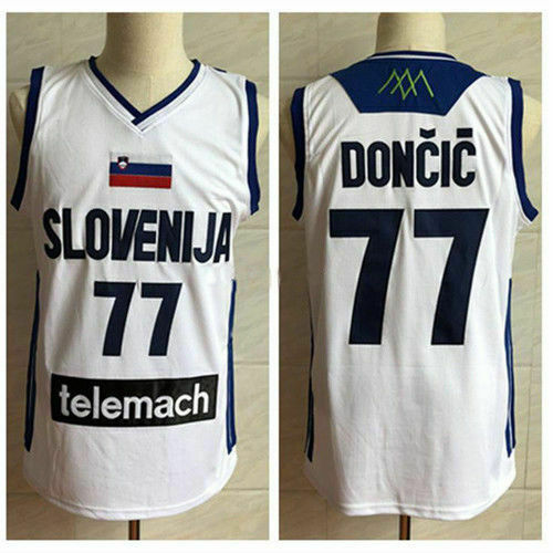 Doncic Slovenia Basketball Jersey