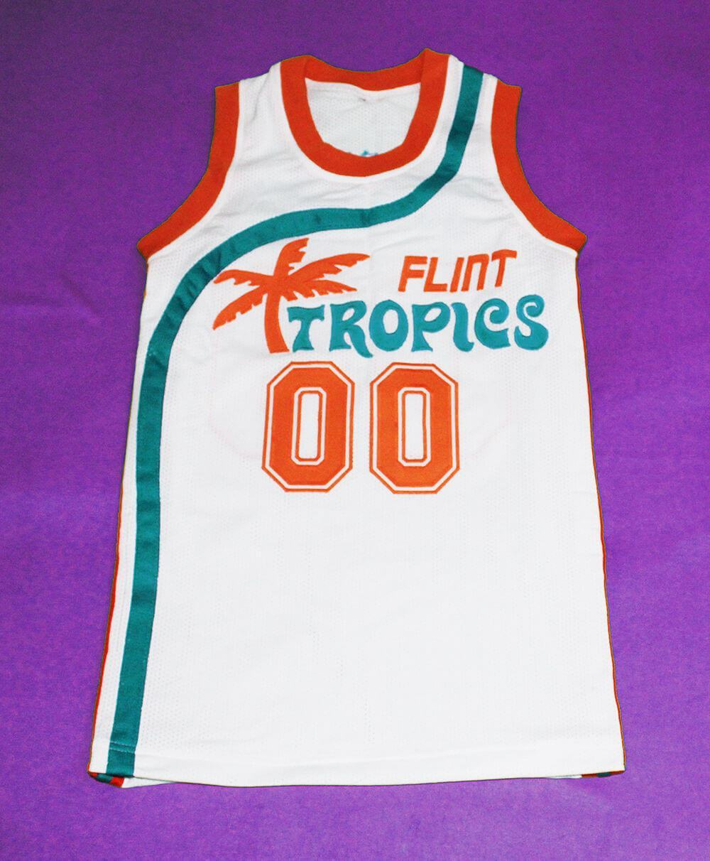 Flint Tropics 00 Scootsie Basketball Jersey Embroidery Hand Stitched