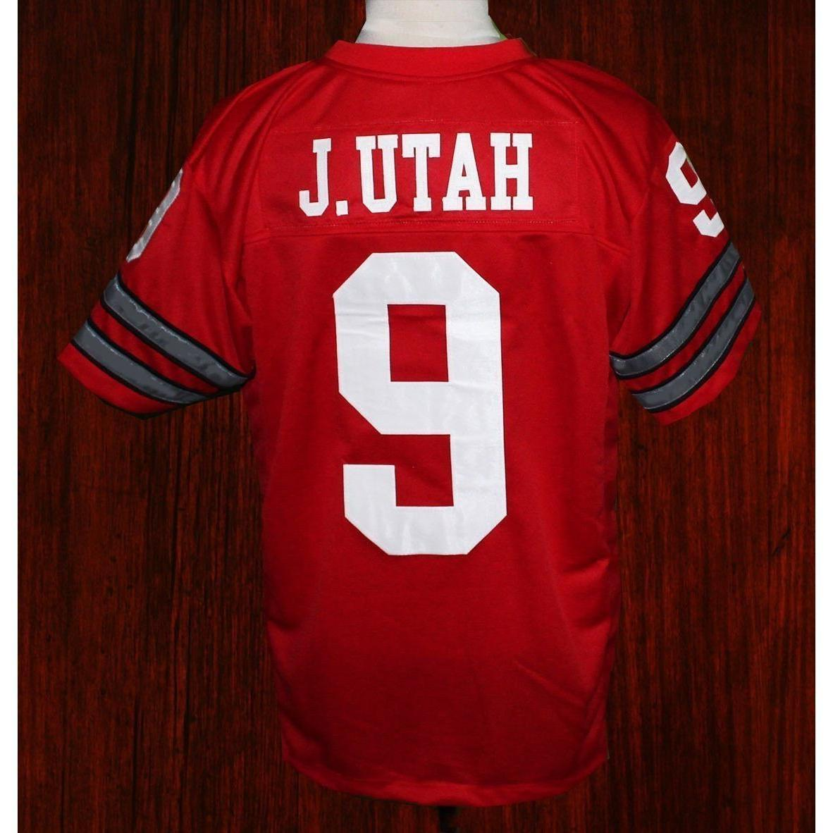 Johnny Utah football jersey
