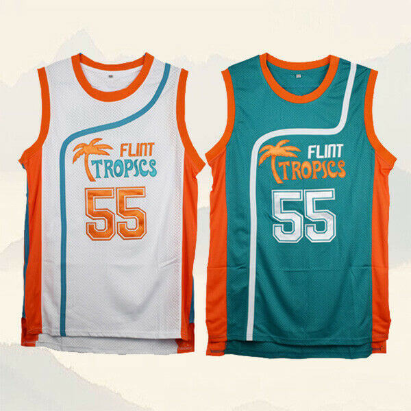 Flint Tropics Vakidis #55 Basketball Jersey Fully Stitched