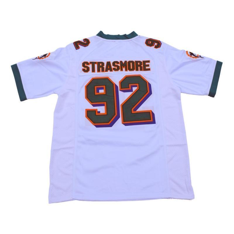 Spencer Strasmore #Football Jersey Dwayne Johnson Ballers #92 - Jersey Champs - Custom Basketball, Baseball, Football & Hockey Jerseys