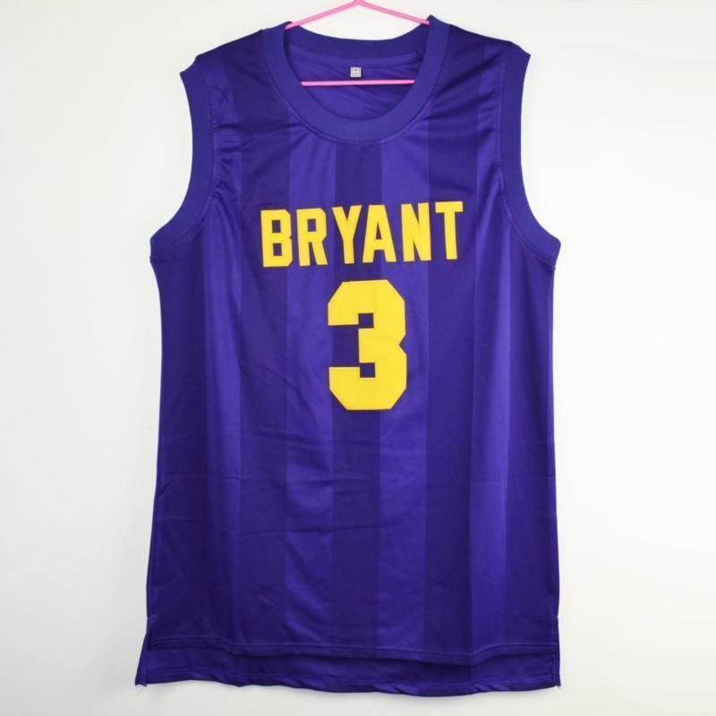 Prince Nelson #3 Bryant The Rock Star Junior High Stitched Basketball Jersey - Jersey Champs - Custom Basketball, Baseball, Football & Hockey Jerseys