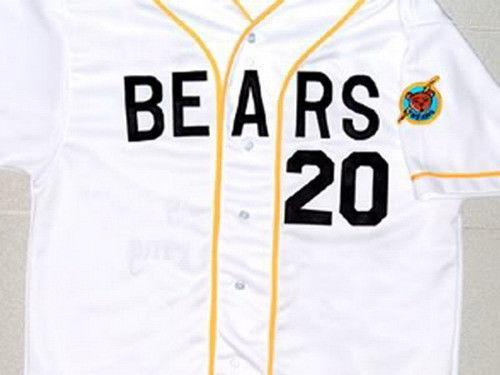 Bad News Bears #20 Baseball Jersey Embroidery - Jersey Champs