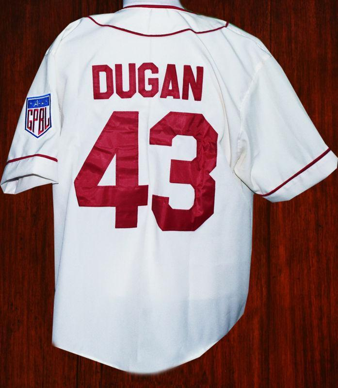 Jimmy Dugan Rockford Peaches Baseball Jersey A League Of Their Own Movie - Jersey Champs