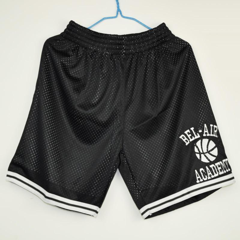 Fresh Prince of Bel Air Academy Basketball Shorts Black - Jersey Champs