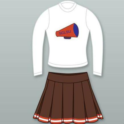 The Waterboy Mud Dogs Cheerleader Uniform - Jersey Champs - Custom Basketball, Baseball, Football & Hockey Jerseys