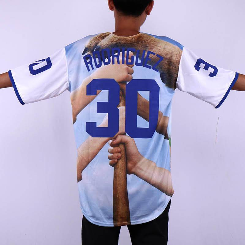 f463e83a8 Benny The Jet Rodriguez The Sandlot Legends Baseball Jersey 39 - Jersey  Champs