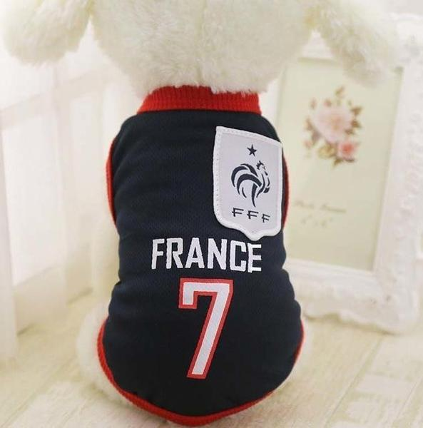 France Soccer Dog Jersey