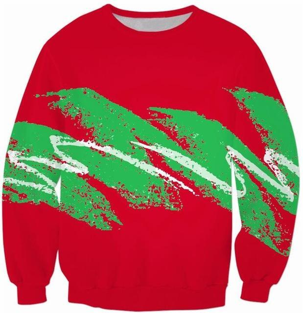 90s Christmas Paper Cup Sweater - Jersey Champs red_gallery