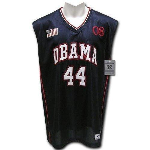 Obama Basketball Jersey Full Embroidery #44 - Jersey Champs - Custom Basketball, Baseball, Football & Hockey Jerseys