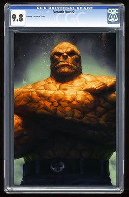 Fantastic Four #2 The Thing Virgin Variant Graded 9.8