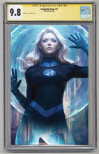 Load image into Gallery viewer, Fantastic Four #1 Unknown Comics Exclusive Invisible Woman Virgin Variant Graded 9.8
