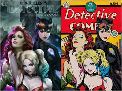 Detective Comics #1000 Artgerm Collectibles Exclusive Two Book Set