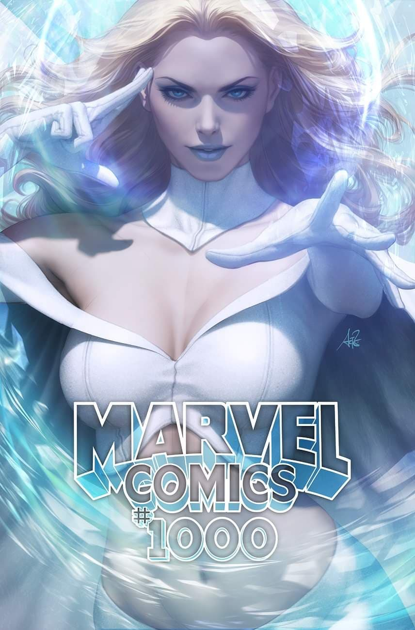 Retail option Marvel Comics #1000 Artgerm Collectibles Exclusive Trade Dress