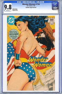 Wonder Woman #750 Artgerm Collectibles Exclusive Golden Age Graded CGC 9.8