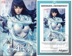 Signed with Metal COA Aero1 Artgerm Variant (PRE-ORDER - 7/3/2019 release date)