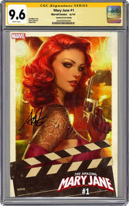 The Amazing Mary Jane #1 Variant Graded 9.6