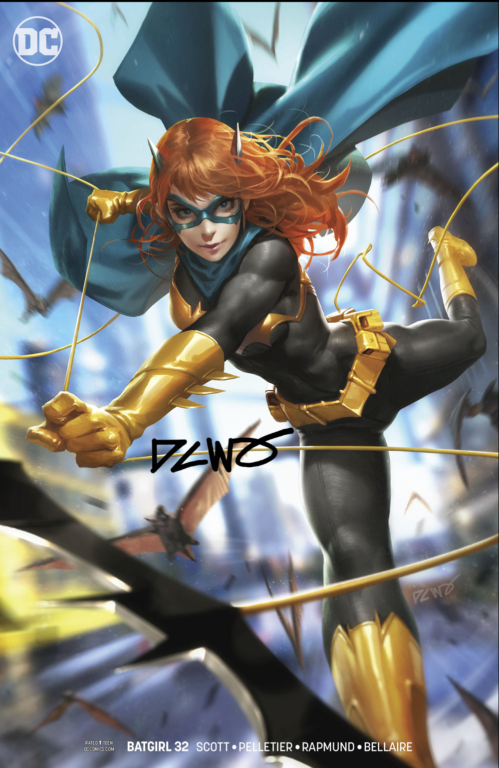 Batgirl #32 Variant Signed by DCWJ