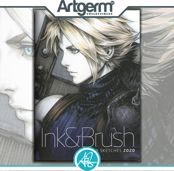 2020 Ink & Brush Sketch Book From Artgerm