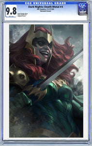 Dark Nights: Death Metal #5 Art By Artgerm Variant CGC Graded Guaranteed 9.6 or Higher (11/17/20 Release)