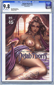 DEJAH THORIS #3 CVR B KUNKKA GRADED