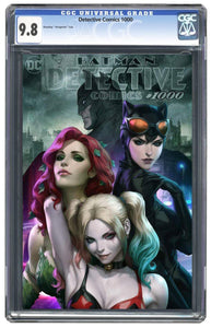Detective Comics #1000 Artgerm Collectibles Exclusive  Trade Dress Graded Guatanteed 9.8