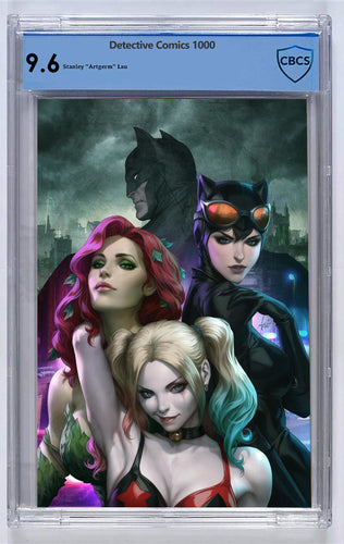 Detective Comics #1000 Artgerm Collectibles Exclusive Virgin Variant CBCS 9.6