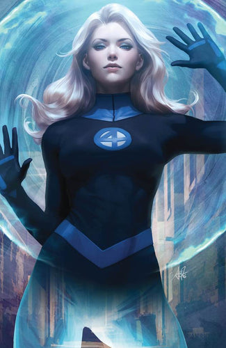 Fantastic Four #1 Unknown Comics Exclusive Invisible Woman Virgin Variant
