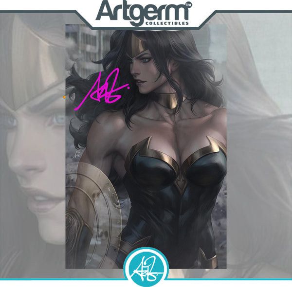 Heroes Reborn #1 1:200 Artgerm Virgin Variant Signed with COA