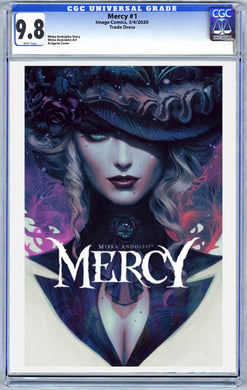 Mercy #1 Artgerm Variant Graded 9.8 (3/4/20 Release)
