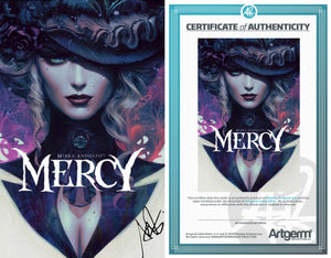 Signed with Metal COA Mercy #1 Artgerm Variant (3/4/20 Release)