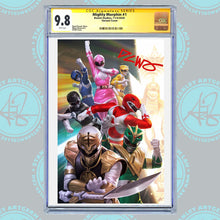 Load image into Gallery viewer, Mighty Morphin #1 Art By DCWJ Exclusive Virgin Variant CGC Graded Guaranteed 9.6 or Higher (11/4/20 Release)