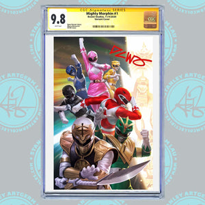 Mighty Morphin #1 Art By DCWJ Exclusive Virgin Variant CGC Graded Guaranteed 9.6 or Higher (11/4/20 Release)
