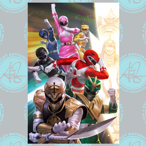Mighty Morphin #1 Art By DCWJ Exclusive Virgin Variant (11/04/20 Release)