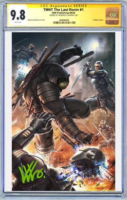 TMNT: The Last Ronin #1 Art By Kunkka PUREart Variant CGC Graded Guaranteed 9.8 (8/19/20 Release)