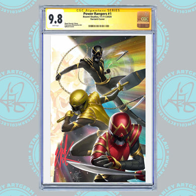 Power Rangers #1 Art By Ejikure Exclusive Virgin Variant CGC Graded Guaranteed 9.6 or Higher (11/11/20 Release)