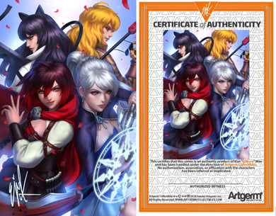 Signed with Metal COA RWBY #6 Ejikure Variant (3/11/20 Release)