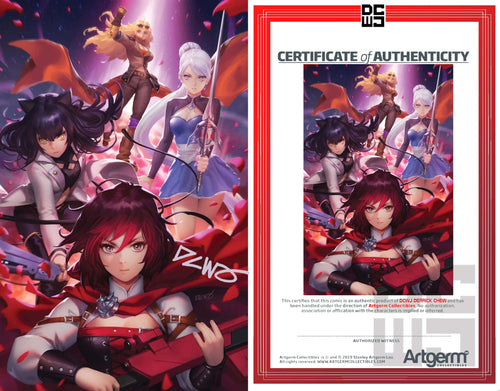 Signed with Metal COA RWBY #7 DCWJ Variant (4/8/20 Release)