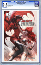 Load image into Gallery viewer, Red Sonja: Age of Chaos #3 Kunkka Trade Dress CVR Graded (RELEASE 3/18/2020)