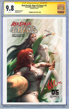 Load image into Gallery viewer, Red Sonja: Age of Chaos #5 Kunkka Trade Dress Variant CGC 9.8 (5/20/2020 Release)