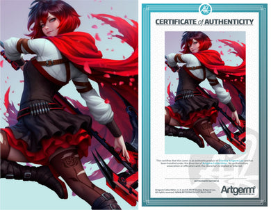 SIgned with Metal COA RWBY #2 (PRE-ORDER - 11/6/2019 release date)