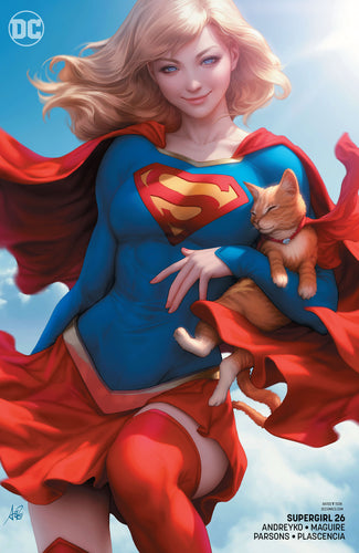 Supergirl #26 Variant Edition SIGNED