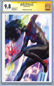 Spider-Woman #5 1:500 Artgerm Virgin Variant CGC Graded Guaranteed 9.8