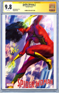 Spider-Woman #1 Artgerm Variant CGC Graded Guaranteed 9.8 (PRE-ORDER - 3/18/2020 release date)