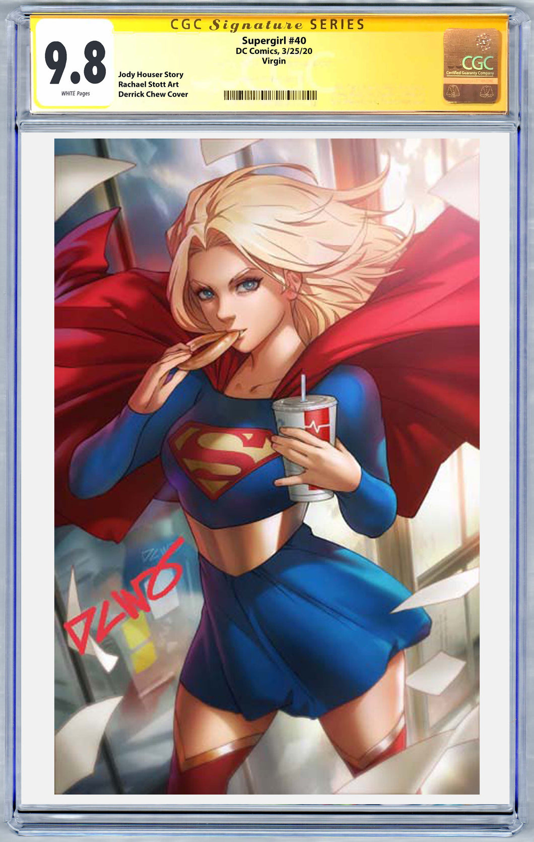 Supergirl #40 DCWJ Variant CGC 9.8 (3/25/20 Release)