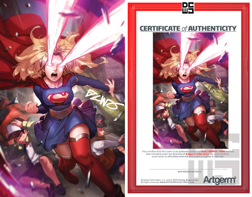 Signed With Metal COA Supergirl #41 DCWJ Variant (4/22/2020 Release)